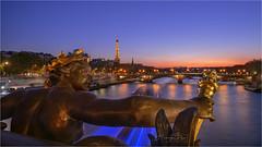 _DSC9810.0919 Pont Alexandre III (HUONGBEO PHOTO) Tags: ef2470mmf4l sonyilcea7r seine eiffel france paris europe night longexposure alexandreiiibridge citylights