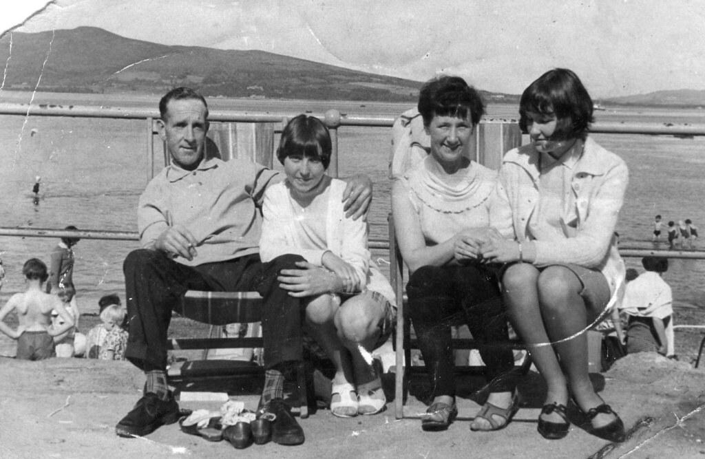 Robert Margaret and Mary Adam 1960s