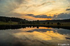 Sunset @ Schwarzbach (Lцdо\/іс) Tags: fagnes fagnard sunset hautesfagnes schwarzbach étang lac lake belgique belgium belgie belgian coucher soleil treking outdoor