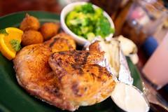 Half Chicken (ranzino) Tags: daleville threelilpigsbarbeque va barbeque chicken restaurant virginia unitedstatesofamerica
