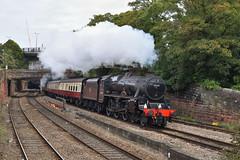 s45231-RoodeeJcn-18.9.19 (shaunnie0) Tags: steamtrain steamengine class5 stanier black5 lsl roodeejunction 5p45 locomotiveserviceslimited