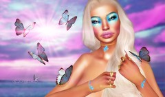 UNICORNS AND BUTTERFLIES (Rachel Swallows Inworld Elenamicheals Core) Tags: accessories butterfiles catwa doctorswithoutborders entice fashion glamaffair legacy makeup secondlife sintiklia spoonfulofsugar spotcat stealthic unicorn zibska