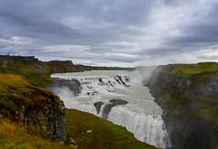 川水氣勢(DSC_0152) (nans0410(busy)) Tags: iceland bláskógabyggð gullfoss waterfall river friðlandviðgullfoss 屈弗沙 öffentlicherparkplatz 黃金瀑布停車場 黃金圈 古佛斯瀑布 辛格韋勒國家公園 冰島
