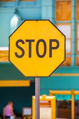 Stop (Thomas Hawk) Tags: america florida orlando usa unitedstates unitedstatesofamerica universal universalorlandoresort universalstudios universalstudiosflorida universalstudiosorlando stopsign fav10