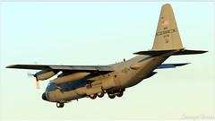 (Sir George R. F. Edwards) Tags: avgeek plane planelover planespotter planespotting aviation aviationspotter aviationspotting airport canon 7dmarkii usaf united states air force lockheed c130h hercules