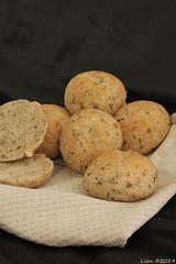 Fresh Herb bread (shaped in rolls) (336) (Lien (notitie van Lien)) Tags: bread brood rolls kleinbrood smallbreads herbs kruiden