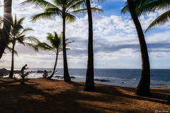 Maui, Hawaii (Ken Mickel) Tags: beach coast hawaii kenmickelphotography landscape maui ocean outdoors paia roadtohana shore sky sunstar photography sunburst water unitedstatesofamerica