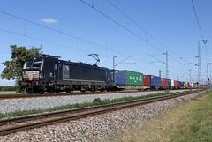 BoxXpress 193 607-9 Containerzug, Bruchsal (michaelgoll777) Tags: boxxpress br193 vectron mrce