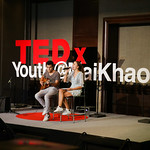 Julianna Meister and John Hatt at TEDxYouth@MaiKhao