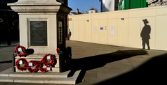 In the shadow of greatness (robbierunciman) Tags: statue general chindits london oldwaroffice horseguardsavenue ww2 ghurka gurka soldier ministryofdefence shadow memorial recognition rememberance duty longshadow army military