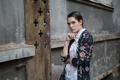 (daniel wdzięczkowski) Tags: woman wdzięczkowski people bydgoszcz city photography girl portrait poland color model colors photo canon face hair fashion dark flowers