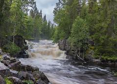 Fulufallen #3 (jungfrulin) Tags: fulufallen dalarna sweden sverige waterfall vattenfall sony