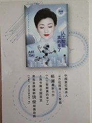 In search of artifical intelligence. By Yang Lan (DymphieH) Tags: postcards received bookcovers