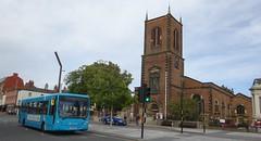 Stockton on Tees (Andrew Stopford) Tags: yj57bvc vdl sb120 plaxton centro arriva stocktonontees