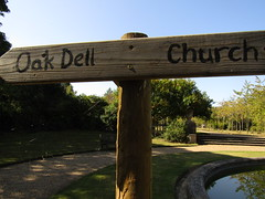 IMG_6991 lets go to the Oak dell <3 (belight7) Tags: wooden sign post uk england stoke poges memorial garden stokepoges