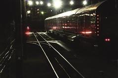 train at night (Sat Sue) Tags: olympus micro four thirds 43 penf japan fukuoka station railway railroad night