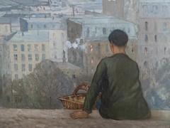 """Jules Adler : """"Paris vu du Cacré Coeur"""" (bpmm) Tags: julesadler lapiscine roubaix art expo exposition musée peinture"""