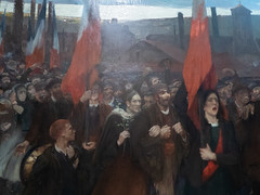 """Jules Adler : """"La grève au Creusot"""" (bpmm) Tags: julesadler lapiscine roubaix art expo exposition musée peinture"""