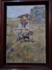 """Jules Adler : """"Portrait du peintre Clément Brun"""" (bpmm) Tags: julesadler lapiscine roubaix art expo exposition musée peinture"""