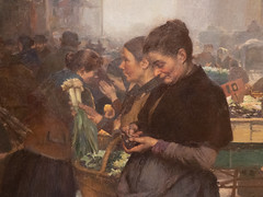 """Jules Adler : """"Au faubourg Saint Denis - le matin"""" (bpmm) Tags: julesadler lapiscine roubaix art expo exposition musée peinture"""