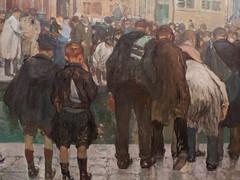 "Jules Adler : ""L'accident"" (bpmm) Tags: julesadler lapiscine roubaix art expo exposition musée peinture"
