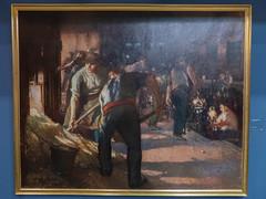 """Jules Adler : """"Les enfourneurs"""" (bpmm) Tags: julesadler lapiscine roubaix art expo exposition musée peinture"""