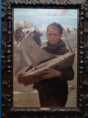 """Jules Adler : """"Enfant au bateau"""" (bpmm) Tags: julesadler lapiscine roubaix art expo exposition musée peinture"""
