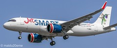 Airbus A320-200Neo / JetSMART (Colibri de arica) (matdu20eme) Tags: toulouse airport pilot airbusa320neo a320neo airbus jetsmart airlines airliner aircraft airplane avion aviation