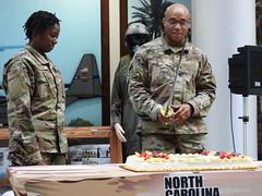 North Carolina Air Guard Celebrates U.S. Air Force Birthday (North Carolina National Guard) Tags: ncng northcarolinaairguard airforce birthday 72ndbirthday jfhq cake raleigh northcarolina