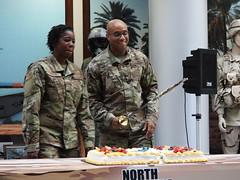 North Carolina Air Guard Celebrates U.S. Air Force Birthday (North Carolina National Guard) Tags: birthday cake northcarolina raleigh airforce 72ndbirthday jfhq ncng northcarolinaairguard