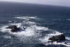 Big Sur California (DRC - THANKS for 3.5 Million Views) Tags: bigsur ca california ocean shore rocks waves surf blue rough slide scanned spotmatic pentax