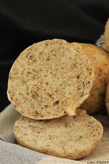 Fresh herb bread (Lien (notitie van Lien)) Tags: bread brood kleinbrood rolls smallbreads herbs kruiden