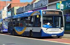 27654 GX10KZG (PD3.) Tags: coastliner 700 adl enviro 300 27654 gx10kzg gx10 kzg north end portsmouth bus buses hampshire hants england uk stagecoach