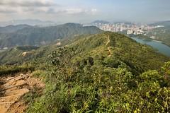Hiking towards Needle Hill (twomphotos) Tags: hong kong hongkong china city urban life skyscraper culture hiking outdoor nature lake green