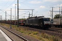 189207 Magdeburg, Germany (Paul Emma) Tags: germany magdeburg railway railroad electrictrain train 189207