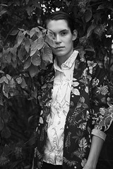 (daniel wdzięczkowski) Tags: people woman wdzięczkowski white bydgoszcz city photography girl portrait poland photo canon face fashion hair dark model flower bw black blackwhite monochrome