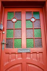 Decorative door, downtown Reykjavík (jhberger505) Tags: iceland