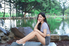 IMG_2174L (攝影玩家-明晏) Tags: 人 人像 戶外 outdoor 美女 辣妹 張芳瑜 北一女 model 外拍