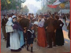 """Jules Adler : """"Joies populaires"""" (bpmm) Tags: julesadler lapiscine roubaix art expo exposition musée peinture"""