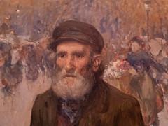 """Jules Adler : """"Le marchand de journaux à Paris"""" (bpmm) Tags: julesadler lapiscine roubaix art expo exposition musée peinture"""