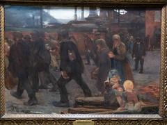"""Jules Adler : """"Au pays de la mine"""" (bpmm) Tags: julesadler lapiscine roubaix art expo exposition musée peinture"""