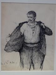 Jules Adler : étude (bpmm) Tags: julesadler lapiscine roubaix art dessin encredechine expo exposition musée