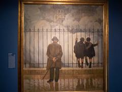 """Jules Adler : """"Les fumées"""" (bpmm) Tags: julesadler lapiscine roubaix art expo exposition musée peinture"""