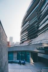 Jockey Club Innovation Tower (]vincent[) Tags: vincent people portrait sony rx 100 mk iv hk hong kong china island kowloon tai o village circle building rabbit whole whampoa boat university jockey club innovation tower