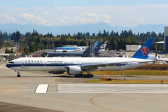 Brand New 777 (B-20CK) (Fraser Murdoch) Tags: boeing 777 777300 777300er b777300 b777300er 773 b773 b777 b77w 77w paine field everett factory b20ck china southern csn cz new brand taxi rto rejected takeoff test kpae pae future flight center centre tour aviation widebody heavy aircraft plane canon eos 650d fraser murdoch photography sun observation deck seattle washington wa state runway 16r 34l