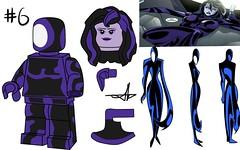 Lego Batman Beyond Minifigure Series (Jacob Customs) Tags: lego batman beyond minifigure collectable series blight inque