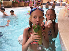 Kids with cocktails / Lapsed kokteilidega (Eemeez) Tags: pool marta linda cocktail ukraine odessa odesa arkadia