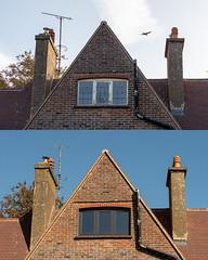 Before and After (Mandy Willard) Tags: 365 1809 house bricks windows chimneys