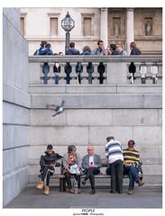 People (Ignacio Ferre) Tags: people gente london londres greatbritain granbretaña reinounido unitedkingdom england inglaterra lumix panasonic trafalgarsquare