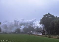 VSM 52-3879, Loenen (cellique) Tags: vsm 523879 terugnaartoen loenen goederentrein spoorwegen museumtrein treinen stoomtrein stoomlokomotief dampfzug eisenbahn zuge guterzug railway train cargotrain steamtrain plandampf